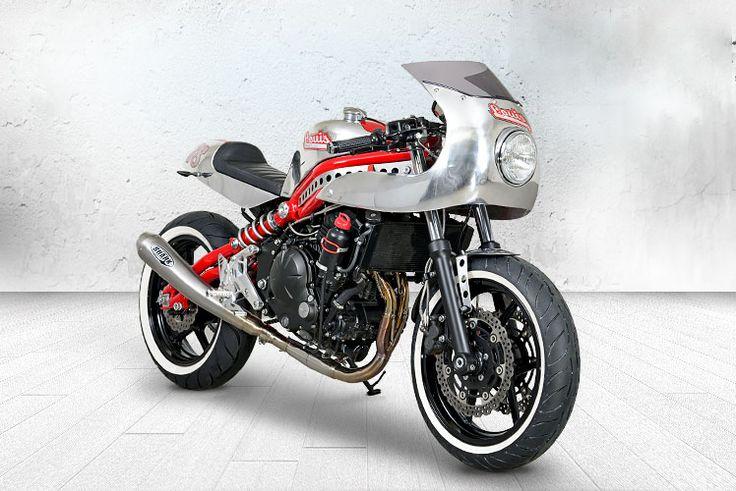 Kawasaki ER-6n Cafe Racer by Louis Moto #motorcycles #caferacer #motos | caferacerpasion.com