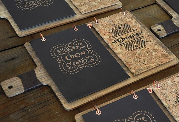 Authentic menu design. Cool isn't it? Designed by Chow & Cheers Nando's restaurant Menu Design