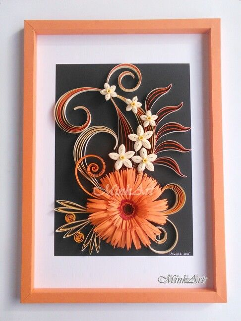 Quilling picture by MinkArt