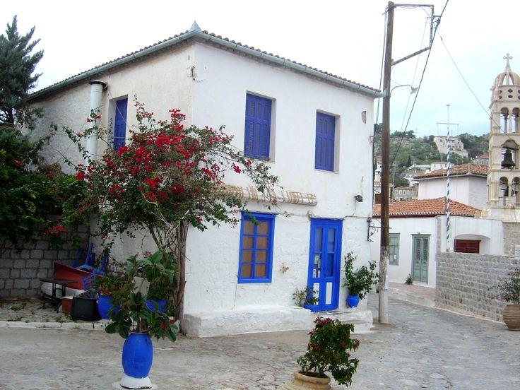 Hydra Island street, Greece