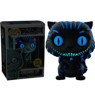 Alice in Wonderland - Cheshire Cat Glow in the Dark Pop! Vinyl Figure Glowing