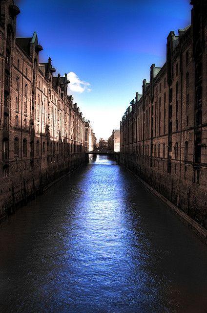 Speicherstadt Hamburg - gerne noch einmal wieder hin,  nur bitte mit besseren Wetter