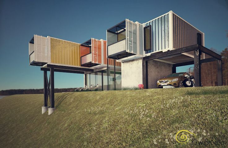 17 best images about arhitectura on pinterest rooftop - Casa container espana ...