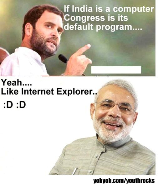 funny questions and answers between rahul gandhi and modi