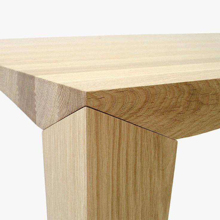 Johansen Table Oak Detail 1200