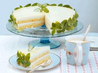 Hugo-Torte - Torten aus dem Kühlschrank http://www.daskochrezept.de/meine-familie-und-ich