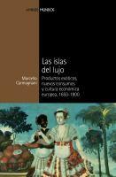 Las islas del lujo : productos exóticos, nuevos consumos y cultura económica europea, 1650-1800 / Marcello Carmagnani ; traducción de Vito Ciao y Esther Llorente Isidro