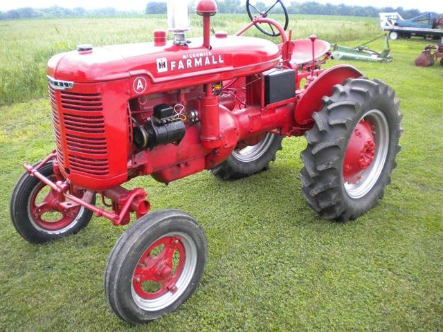 Farmall A tractor  This is the one I want