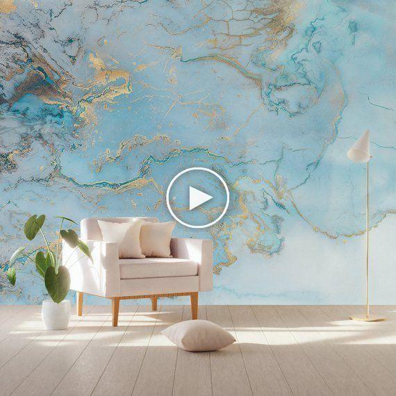 波の壁紙抽象波壁壁画北欧アート壁の装飾現代の家の装飾リビングルーム
