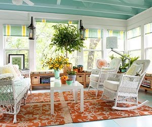 Breezy, Love The Porch Color!