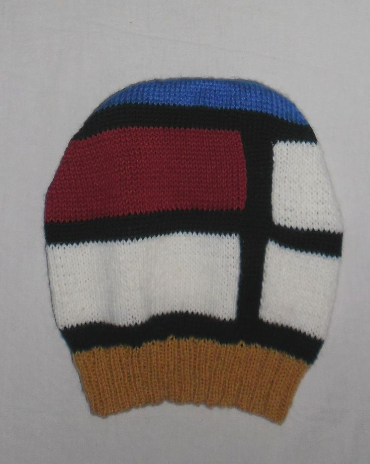 Mondrian hat