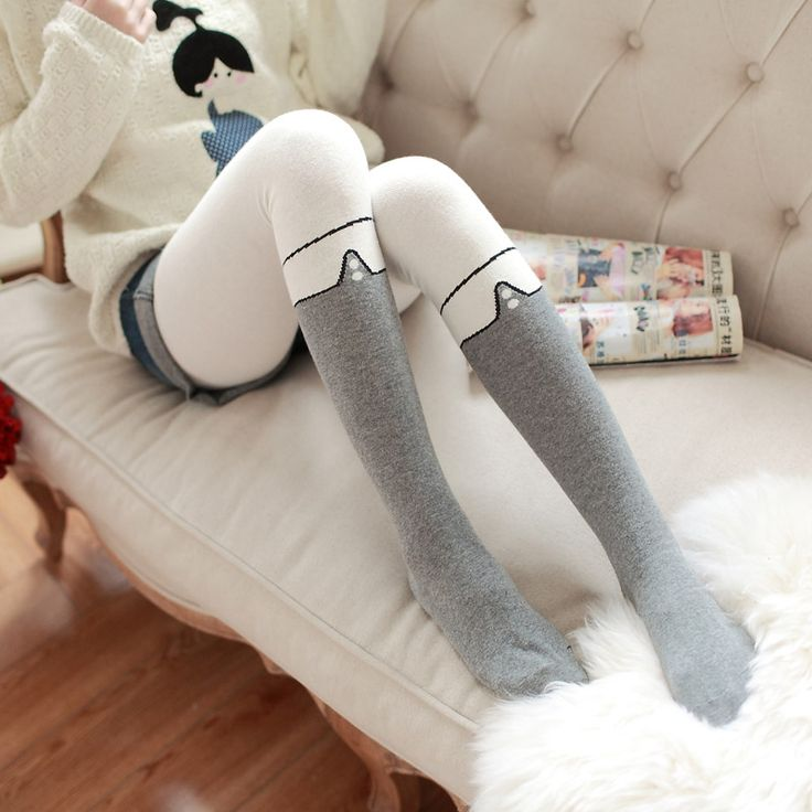 Princess sweet lolita pantyhose Autumn and winter College wind false high thickening false leg knee spell pantyhose LKW41 #Pantyhose legs http://www.ku-ki-shop.com/shop/pantyhose-legs/princess-sweet-lolita-pantyhose-autumn-and-winter-college-wind-false-high-thickening-false-leg-knee-spell-pantyhose-lkw41/