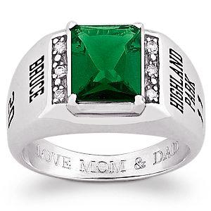 buy s sterling silver emerald cut cz class