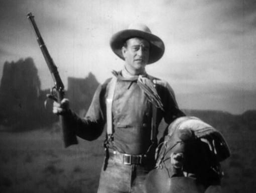 John Wayne makes his break for stardom in Stagecoach
