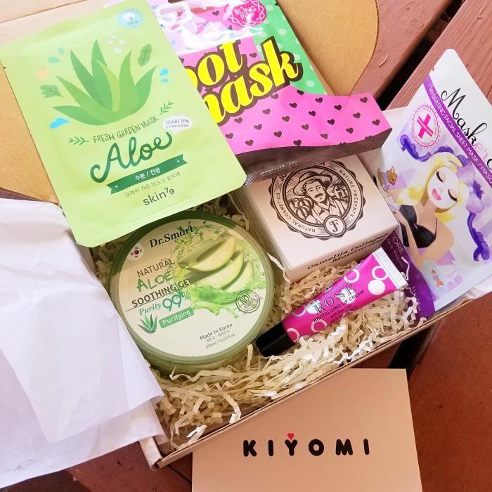 Kiyomi Subscription Box Review Skincare Subscription Box Korean Skincare Korean Beauty