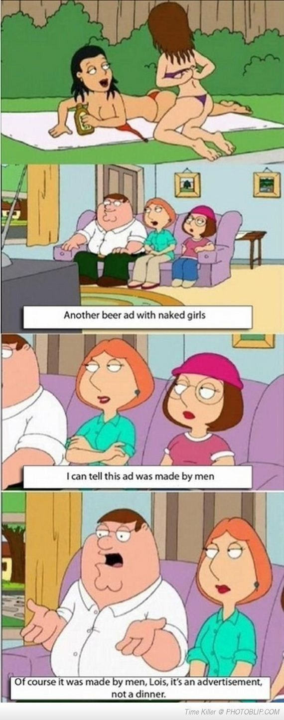 Peter Griffin tells it like it is