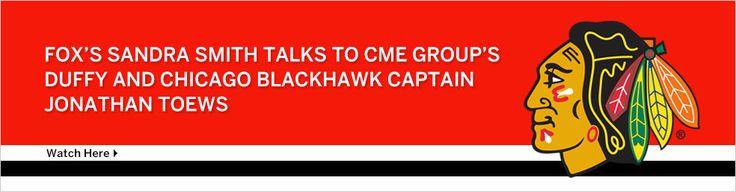 September 18, 2013: FOX's Sandra Smith talks to CME Group's Duffy and Chicago Blackhawks Captain Jonathan Toews