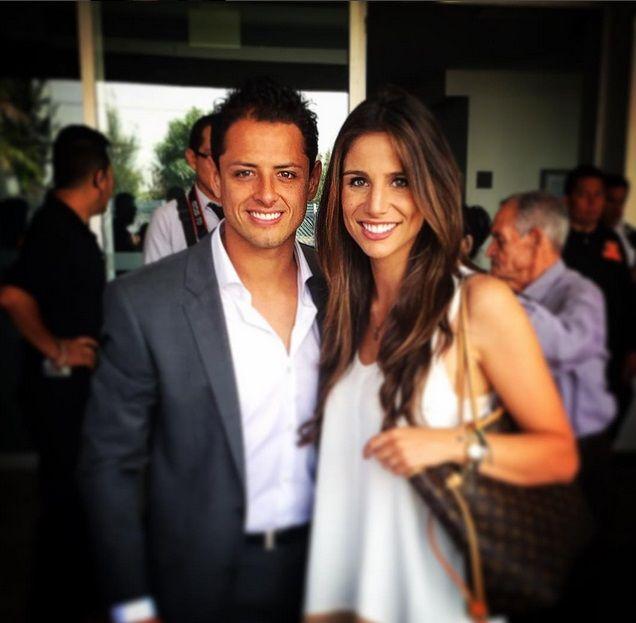 'Chicharito' coquetea con su novia, Lucía Villalón, en Instagram