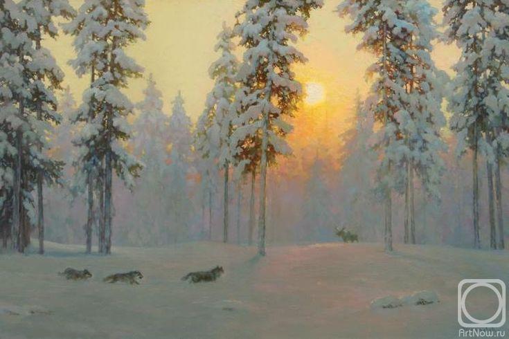 Волков Сергей. Охота на лося