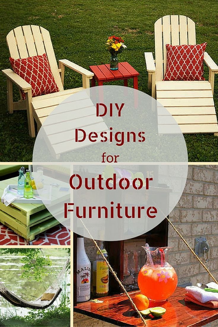 10 Doable Designs For DIY Outdoor Furniture Part 71