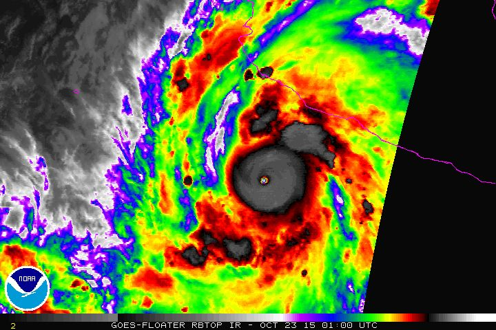 Strongest-Ever Hurricane Patricia Barreling Toward Mexico With 200 MPH Windskkkmnjejikkd(!$(