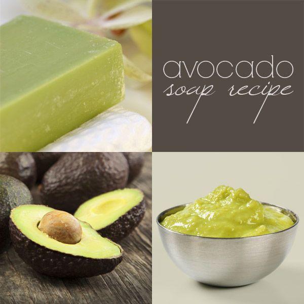 DIY avocado soap recipe (CP) — with avocado oil AND avocado puree
