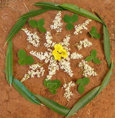 At the Butterfly Ball: Flower Mandalas with Kids: Flower Mandala, Flowers Mandala, Natural Mandala, For Kids, Baby Mandala, Mandalas, Art Mandala, Beautiful Mandala, Butterflies Ball