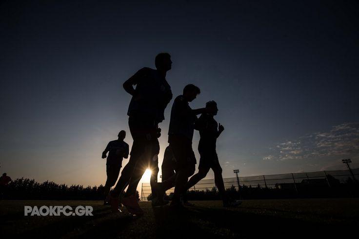 #training #running #art #shadows