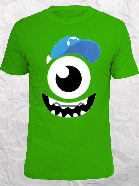 Monsters inc art mike wazowski best seller on etsy design for How to print shirt