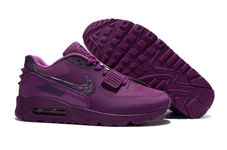 Nike West Air Max 90 purple shoes - Click Image to Close