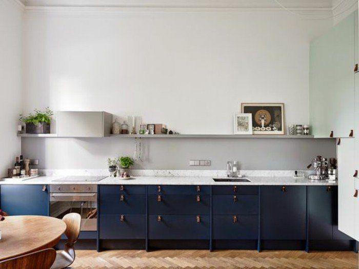 1001 Ideas De Colores Que Combinan Con Gris Para Decorar Tu Casa Decoracion De Cocina Moderna Decoracion De Cocina Cocina Azul