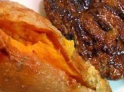 Longhorn Steakhouse's Baked Sweet Potatoes