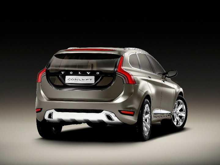 The #XC60 concept came equipped with a 3.2-litre bio-ethanol engine.