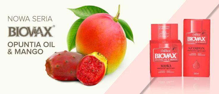Nowość #biovax #opuncja #mango #lbiotica
