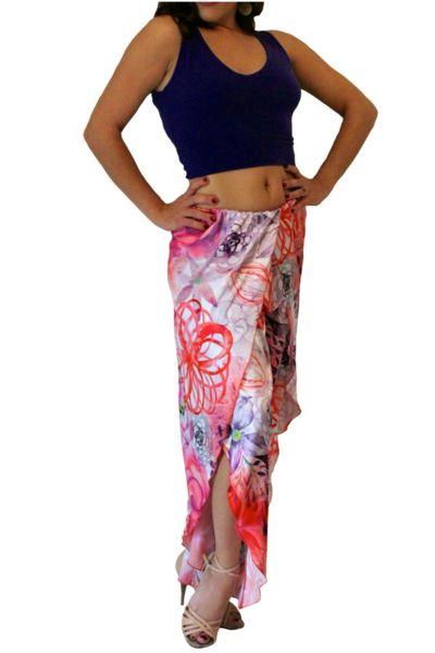 Womens Tango Pants | Unique Tango Clothes - conDiva     #floral #tangopants #womens #argentinetango #milonga #milonguera #tangoclothes #dancewithcondiva