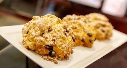 Whole Wheat Banana Walnut Scones