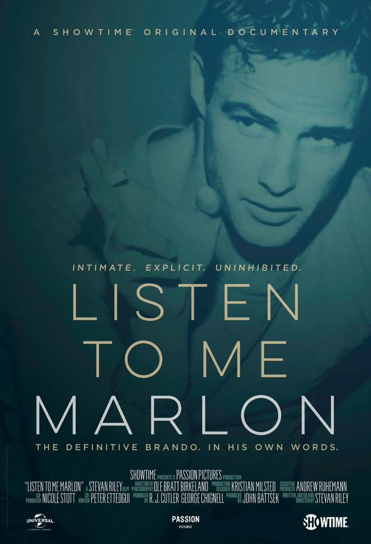 The New Marlon Brando Documentary LISTEN TO ME MARLON is Unlike Anything You've Seen