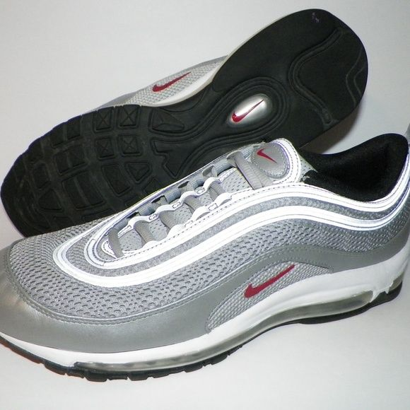 buy online c3765 104e9 Men s 10.5 Nike Air Max 97 Premium Silver Bullet USA 10.5 UK 9.5 EUR 44.5 CM