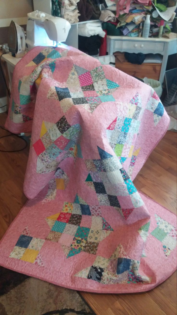 New Homemade Quilts by TheClothesLineByRuby on Etsy https://www.etsy.com/listing/492298112/new-homemade-quilts