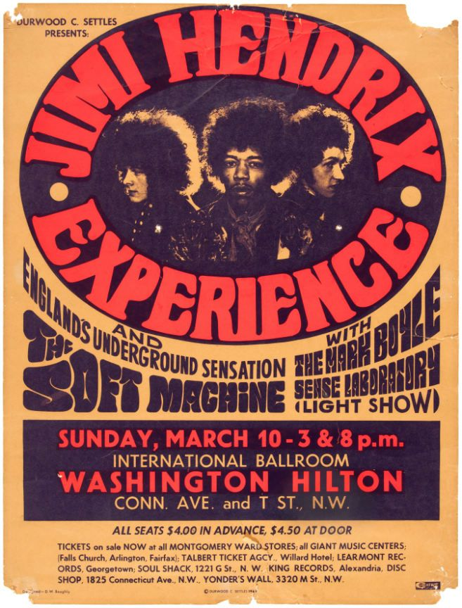 Pin by Tara Love on Wallpapers in 2019 | Concert posters, Jimi hendrix poster, Vintage concert posters