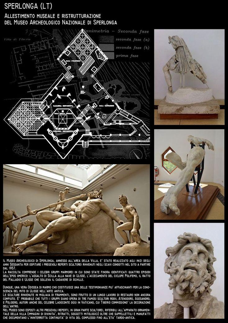Restauro ed allestimento Museo Archeologico di Sperlonga - Arch.R.Pinci -Arch.P.Vigilante, Sperlonga, Roberto Pinci