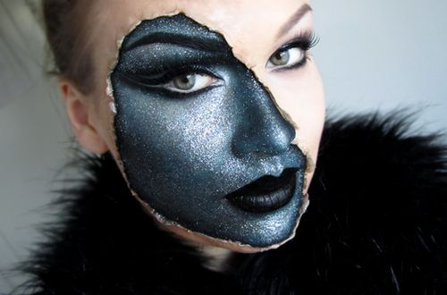 awesome halloween makeup-