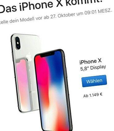 Das neue #iPhoneX wurde gerade vorgestellt und der Preis ist EXTREM. Für 1319€ kriegt man die 256GB Version. Dafür kann man 2x ein #MiAirNotebook kaufen oder 2x ein #MiMix2 oder 4x ein #Mi6 - Oder ein Flugticket nach Shenzhen + 1 Woche Urlaub + ein Mi Mix 2 vor Ort kaufen. Kein Wunder das Apple es direkt mit Finanzierung anbietet.   Sollte ein Smartphone soviel kosten dürfen?  www.tradingshenzhen.com  #apple #iphone #highend #nomoney #expensive #xiaomi #miair #shenzhen #china #foxconn…