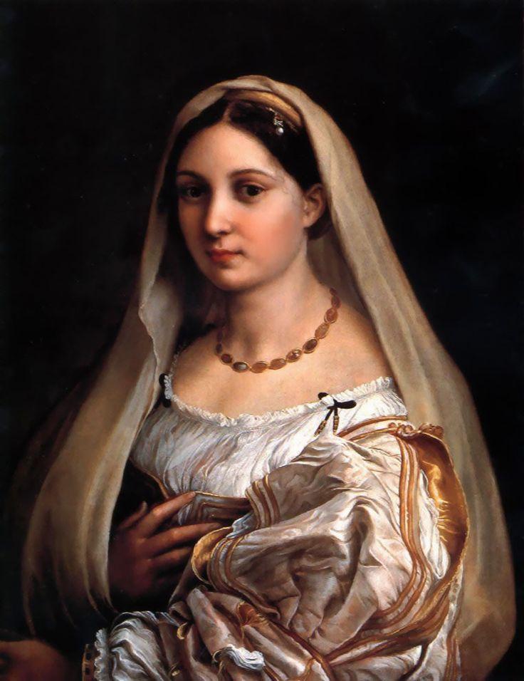 Η Κυρία με το Πέπλο.(1514)  (H Margherita Luti)