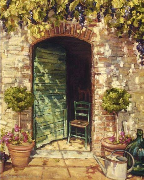 Doorway Paintings Back To Limited Edition Prints Doors