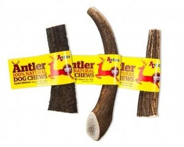 Antos Antler Dog Chew. Antos Antler dog chews are from Red Deer and Fallow deer, much of which is from Scottish highland herds, and have simply been cleaned (wi