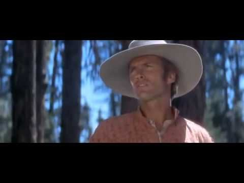 "The only movie in which you'll hear Clint Eastwood sing. ""I Talk To the Trees"""