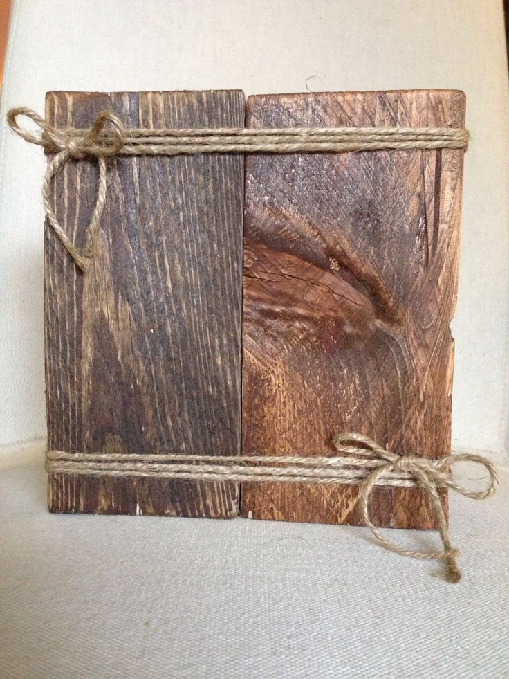 Reclaimed wood picture frame on Etsy https://www.etsy.com/listing/270956616/rustic-reclaimed-wood-picture-frame