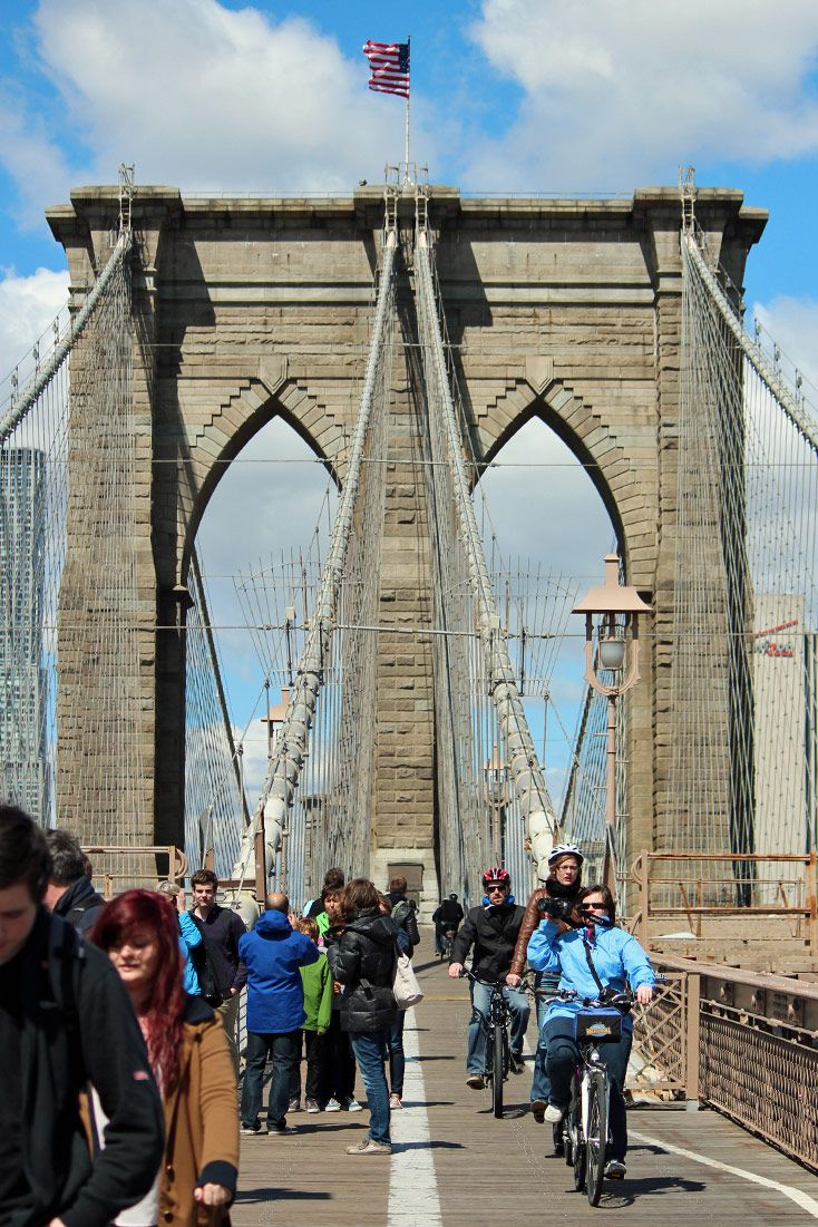 Ponte do Brooklyn, Nova York - EUA
