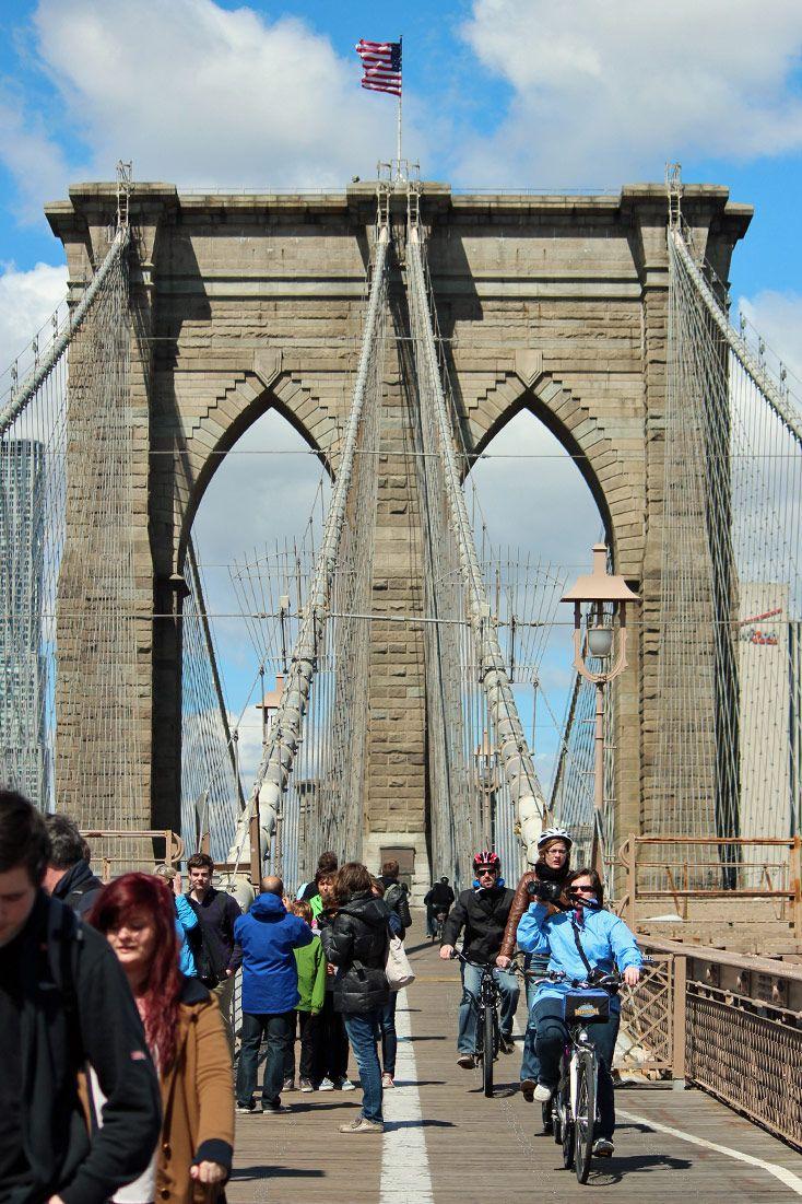 Ponte do Brooklyn, Nova York - EUA